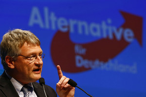 Joerg Meuthen, candidate in Baden-Wuerttemberg of the anti-immigration party Alternative for Germany (Reuters)