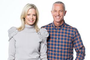 Hosts Shelley Ferguson and Mark Richardson (MediaWorks)