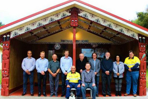 The Te Ahi O Maui partnership and an Israeli company, Ormat, signed a deal last week for the construction of a new geothermal power plant near Kawerau (supplied)