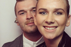 Caleb and Georgia Nott (Broods / Twitter)