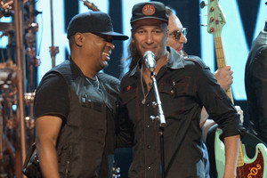 Chuck D and Tom Morello (Getty)