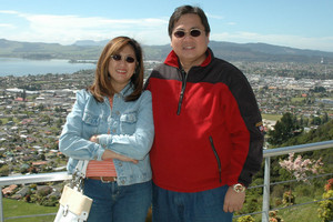 Blessie and Antonio (supplied)