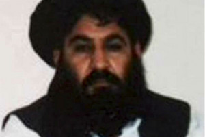 Former leader of the Taliban Mullah Akhtar Mohammad Mansour (Reuters)