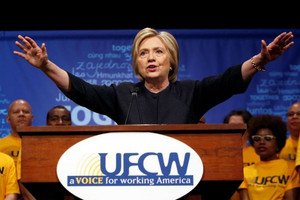 Democratic presidential candidate Hillary Clinton (Reuters)