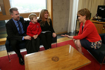Gregg and Kathryn Brain arrived in 2011 attracted by the Scottish government's Highland Homecoming plan (AAP)