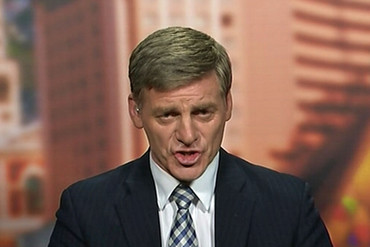 Finance Minister Bill English