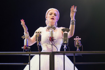 Heather Wilcock stars as Evita Peron (Supplied)