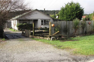 No one was inside the house at the time (NZ Police)