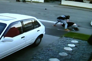 Random attack in Christchurch caught on camera