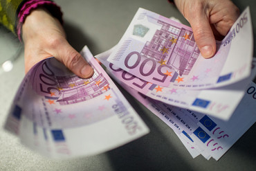 """The €500 is nick-named the """"Bin Laden"""" for its connection to money laundering (AAP)"""