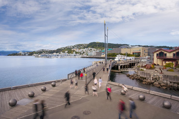 Wellington waterfront (File)