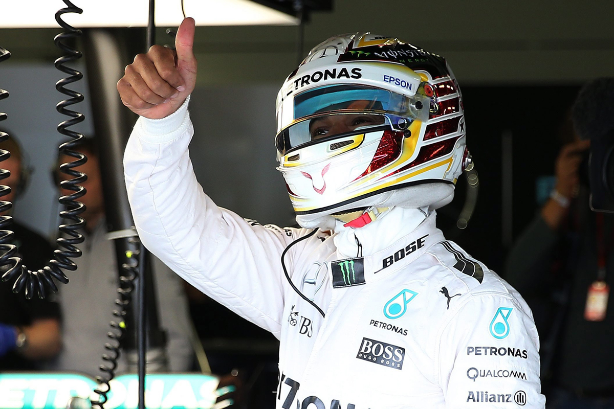 F1 2016: Home hero Hamilton wins British GP