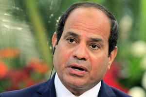 Egyptian President Abdel Fattah al-Sisi (AAP)
