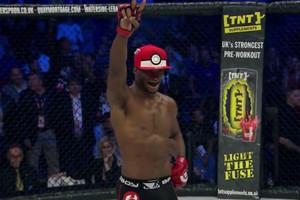 Pokemon styles enter the MMA world