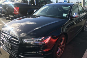 One of the stolen cars (NZ Police)