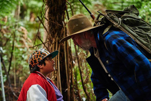 Scene from Hunt for the Wilderpeople, based on a book by Barry Crump (supplied)