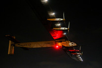 Solar Impulse 2 takes off from Cairo on its final leg (Getty)