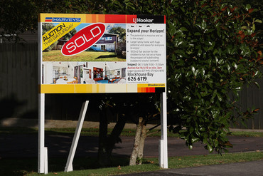 Auckland house prices are at record highs (Getty)
