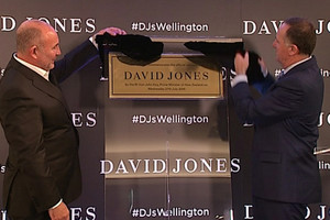 Star-studded turnout for David Jones launch