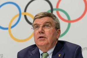 IOC president Thomas Bach (AAP)