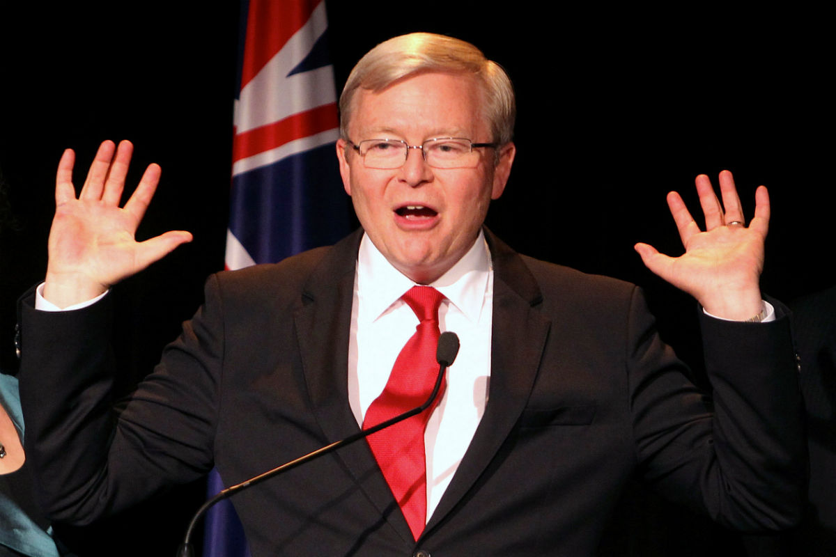 'It will make people very angry' - Liberal MP on Rudd UN bid