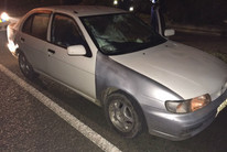 Officers have also identified a distinctive car with a silver/grey driver's side panel that is of interest to their investigation (NZ Police / supplied)