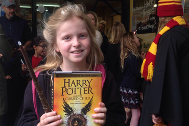 One of the world's first owners of Harry Potter and the Cursed Child (Newshub.)