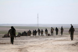 Fighters in Syria (Reuters)