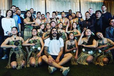 Video: Steven Adams spreads the Kiwi pride through the NBA