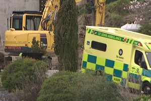 Christchurch man crushed by digger