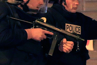 Armed French police (Reuters file)