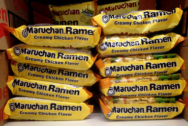Instant ramen noodles were created in Japan in 1958 and have been popular ever since (Getty)