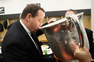 Hansen with the Bledisloe Cup (Getty Images)