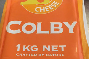 Cheese maker gets a grilling over spelling mistake