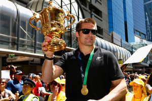 Richie McCaw - from All Black to all bronze?