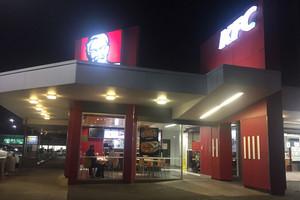 Four arrested after massive KFC brawl