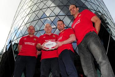British & Irish Lions Ambassadors Gregor Townsend, Keith Wood, Shane Williams and Martin Johnson (Getty Images)