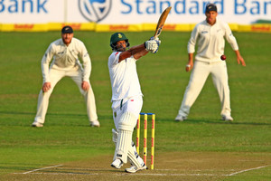 Video highlights: Black Caps bowlers strike, but South Africa still in control of Test