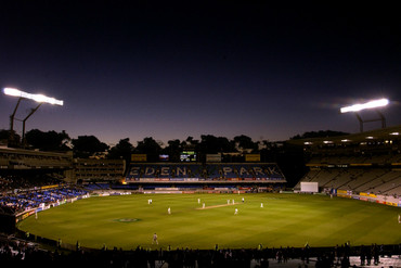 Test match cricket at Eden Park between England and New Zealand back in 2002 (Getty file)
