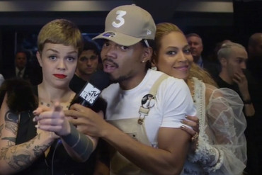 Chance the Rapper meets Beyonce
