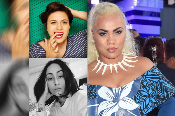 Rose Matafeo and Pebbles Hooper's Twitter profile photos; Parris Goebel at the 2016 MTV Video Music Awards (Getty)