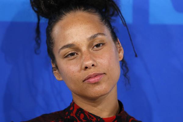 Alicia Keys at the 2016 MTV Video Music Awards (Reuters)