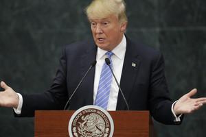 Donald Trump in Mexico (Reuters)