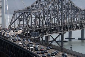 Commuters in San Francisco (Getty)