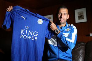 Islam Slimani (Getty Images)