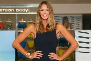 Elle Macpherson at her lingerie launch in Australia (Getty)