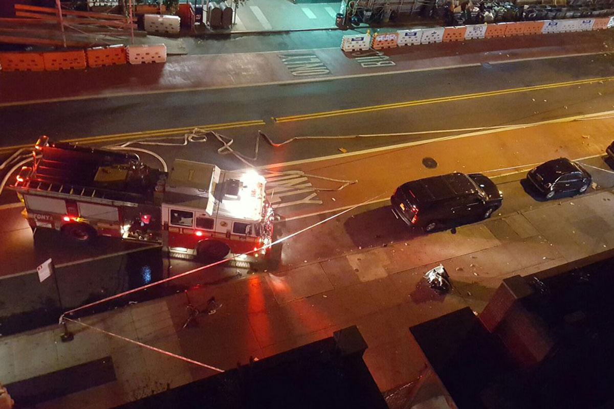 An Explosion in Manhattan