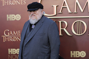 Game of Thrones author George R.R. Martin arrives at the Emmys (Reuters)