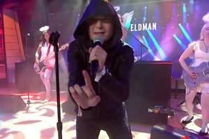 Corey Feldman performs 'Go 4 It' (NBC / YouTube)