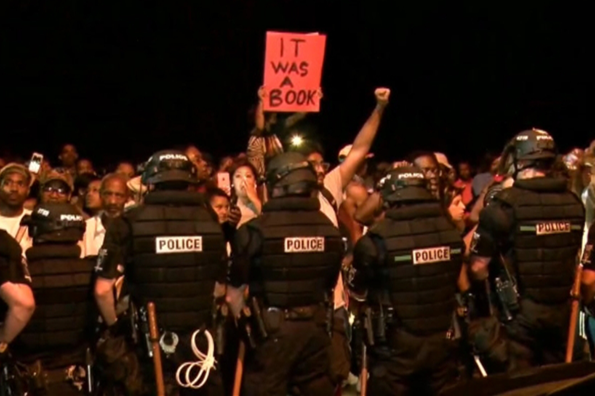 Charlotte Quiet After Police Shooting Protest